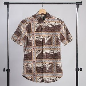 Reyn Spooner Molokai to Oahu Tailored Shirt